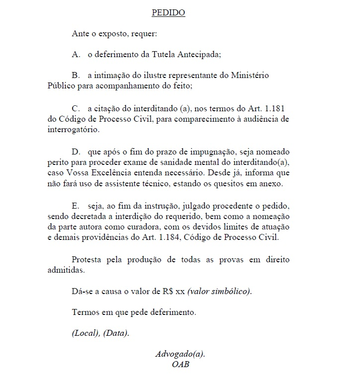 Modelos De Petições Jurídicas Grátis Fevereiro 2013